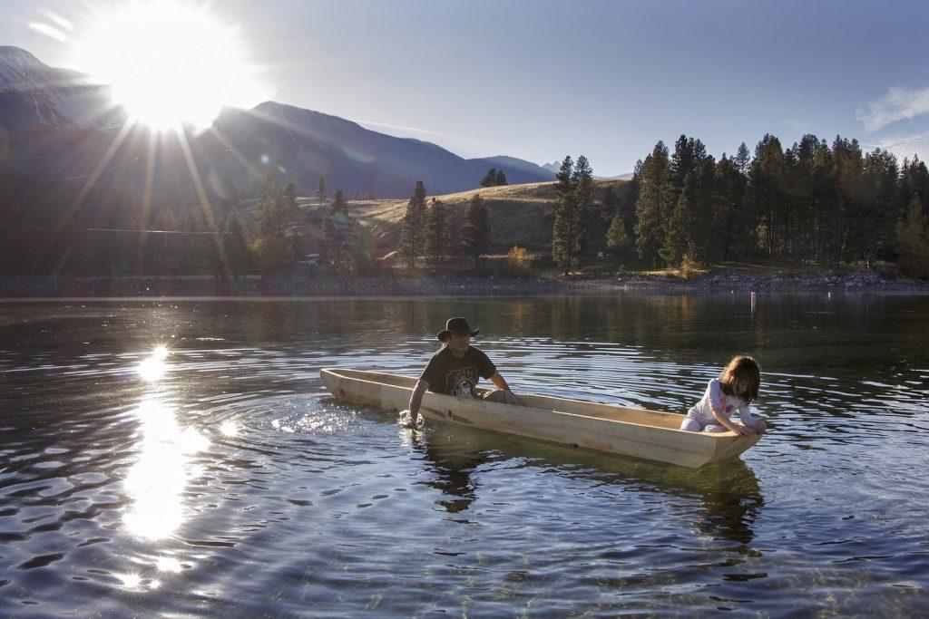 Return of Dugout Canoe Renews Canoe Culture Among Chief Joseph's People
